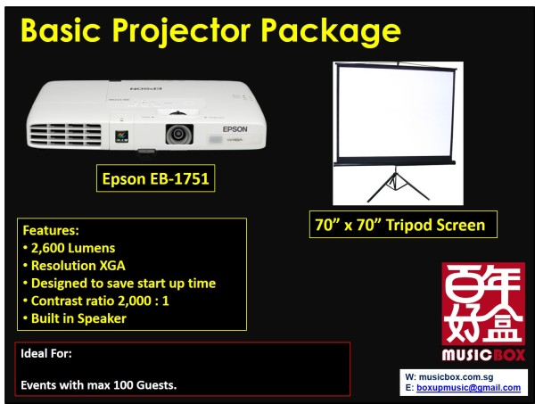 Basic Projector Package