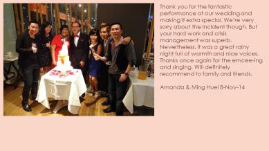 Amanda & Ming Huei 8-Nov-14