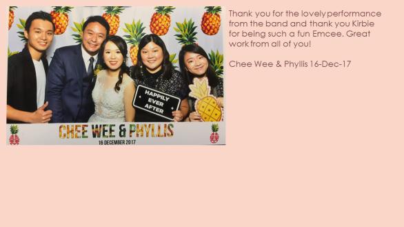 Chee Wee & Phyllis 16-Dec-17