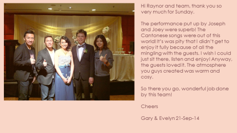 Evelyn & Gary 21-Sep-14