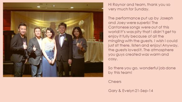 Evelyn & Gary 21-Sep-14