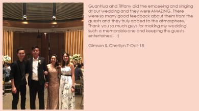 Gimson & Cherilyn 7-Oct-18