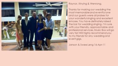 Janson & Swee Leng - 16-Apr-11