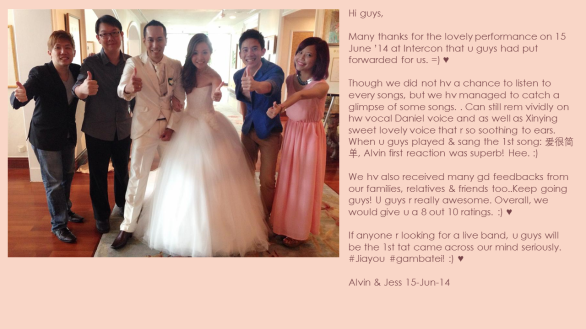 Jess Tan & Alvin Nambiar 15-Jun-14
