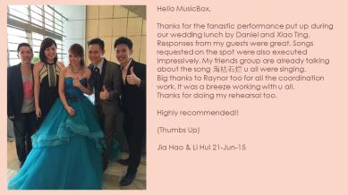 Jia Hao & Li Hui 21-Jun-15
