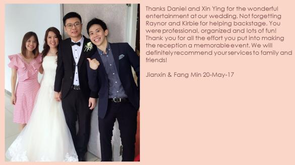 Jianxin & Fang Min 20-May-17