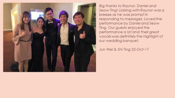 Jun Wei & Shi Ting 22-Oct-17