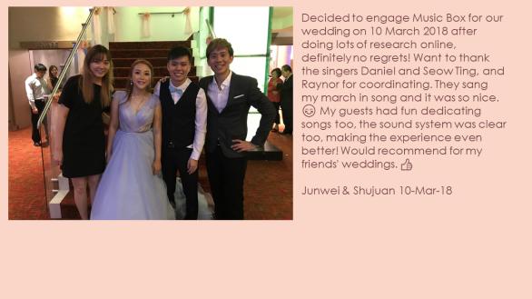 Junwei & Shujuan 10-Mar-18