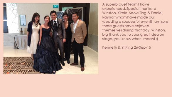 Kenneth & Yi Ping 26-Sep-15
