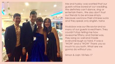 Liqin & Simon 18-Feb-17