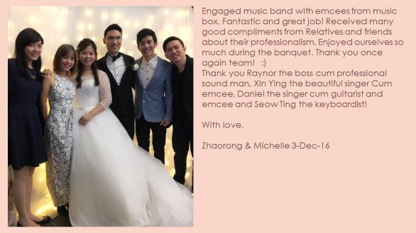 Michelle & Zhaorong 3-Dec-16
