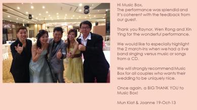 Mun Kiat & Joanne 19-Oct-13