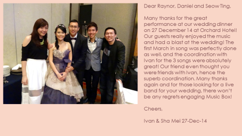 Shan Mei & Ivan 27-Dec-14