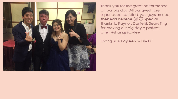 Shang Yi & Kaylee 25-Jun-17