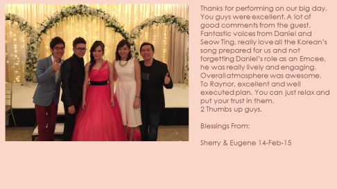 Sherry & Eugene 14-Feb-15