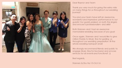 Stannen & Shu Hui 15-Oct-16