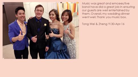 Tong Wei & Zheng Yi 30-Apr-16