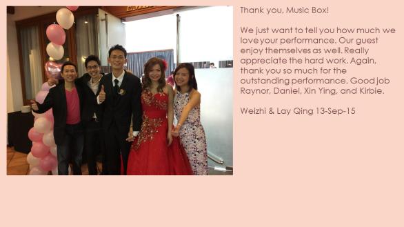Weizhi & Lay Qing 13-Sep-15