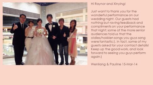 Wenliang & Pauline 15-Mar-14