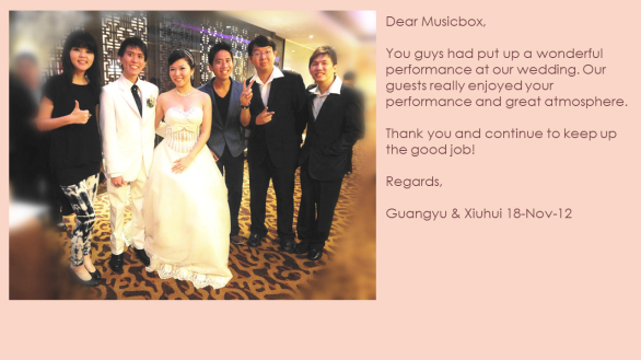 Xiuhui & Guangyu 18-Nov-12