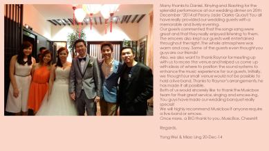 Yong Wei & Miao Ling 20-Dec-14