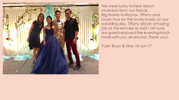 Yuan Boon & Irina 10-Jun-17