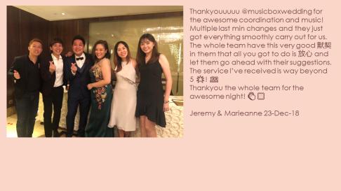 Jeremy & Marieanne 23-Dec-18