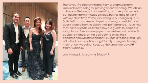 Joo Shiang & Josephyne 5-May-19