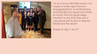 Robert & Jess 7-Jul-19