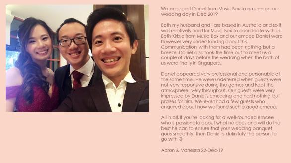 Aaron & Vanessa 22-Dec-19