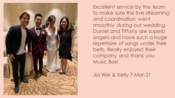 Jia Wei & Kelly 7-Mar-21